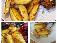 Tepsis krumpli a köretek körete